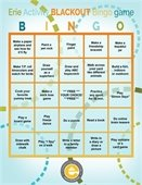 Recreation Bingo Card