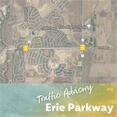 Erie Parkway Traffic Advisory