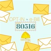 Opt-in to e-Bill