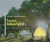 Now hiring Town Arborist