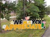 We appreciate you sign