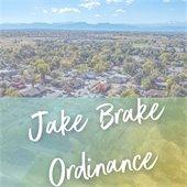 Jake Brake Ordinance