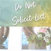 Do Not Solicit List