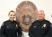 Officers Kelsey and Ohnstad