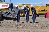 Fire Department Ground Breaking