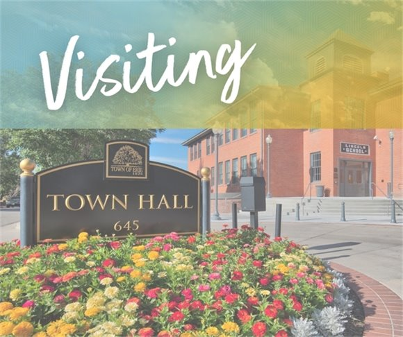 Visiting Town Hall