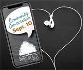 Community Conversations Sept. 10