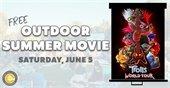 Outdoor Summer Movie