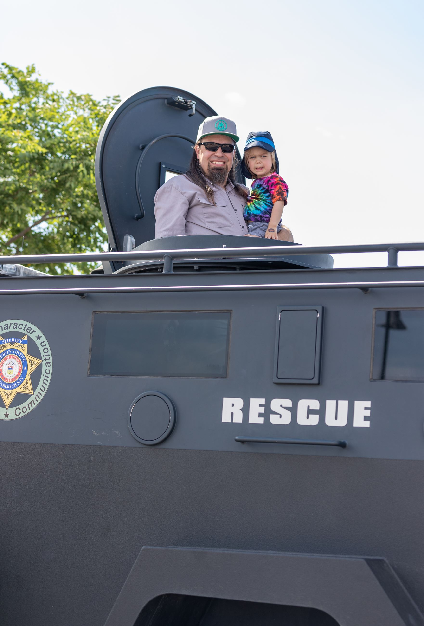 Touch A Truck Participant Photo - Rescue Vehicle