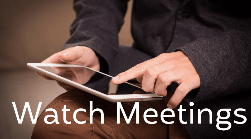 Watch Meetings