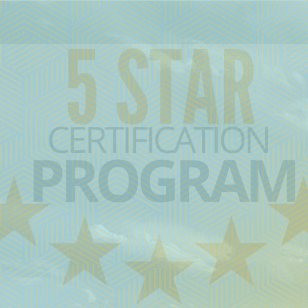 Five Star Certification Spotlight - web