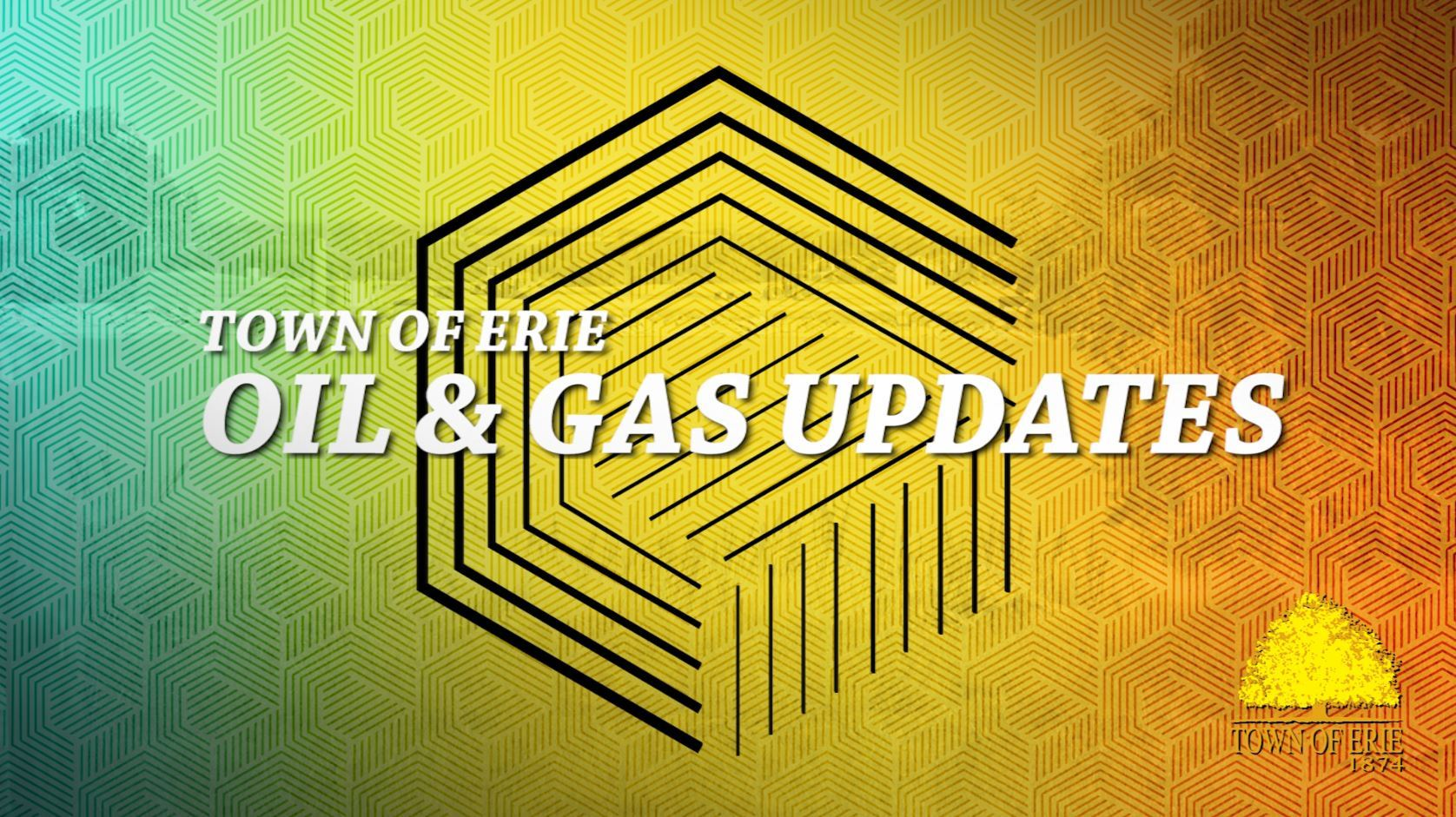 Oil & Gas Updates from the Erie Board of Trustees