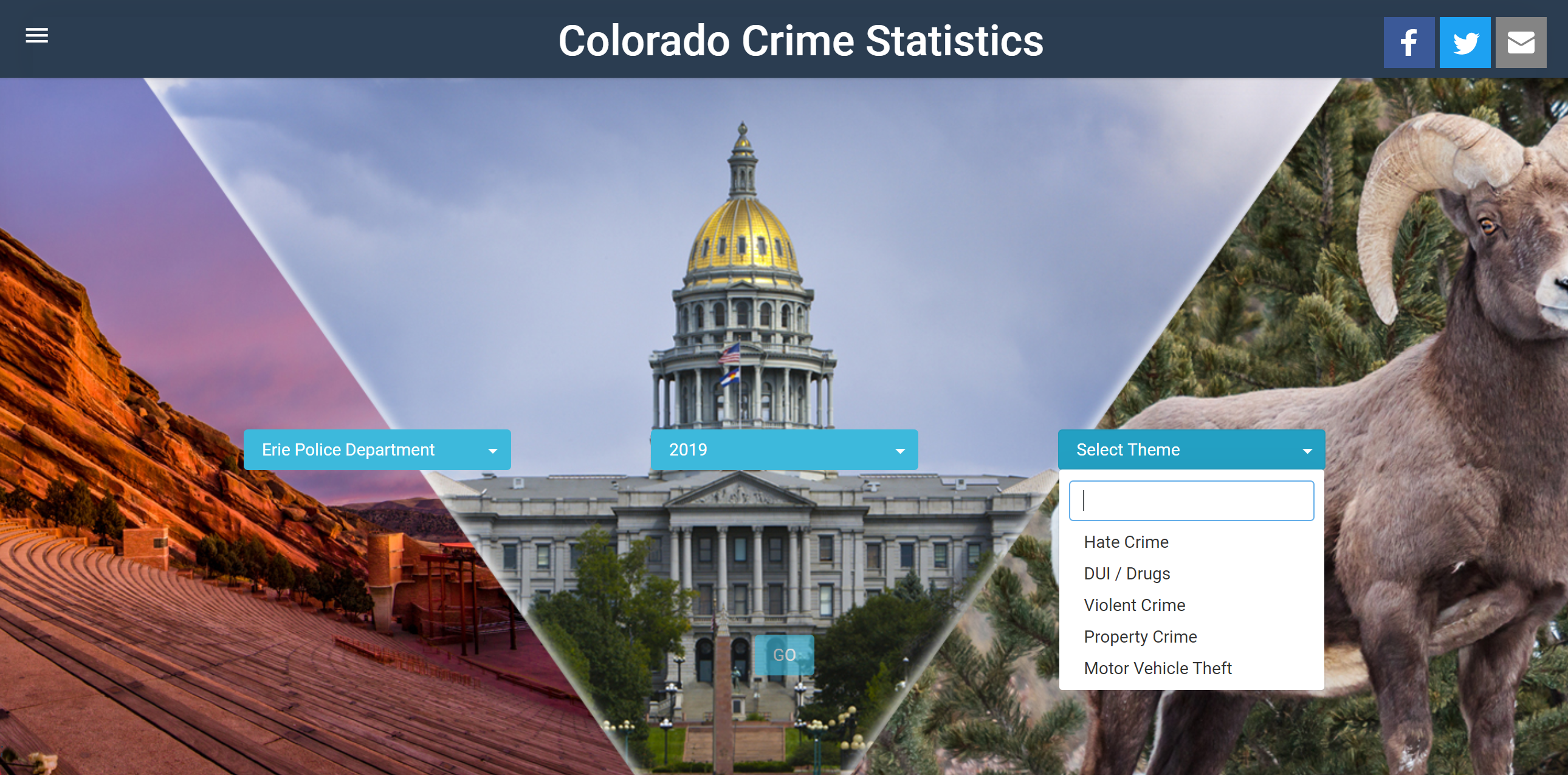 Colorado Crime Statistics Opens in new window