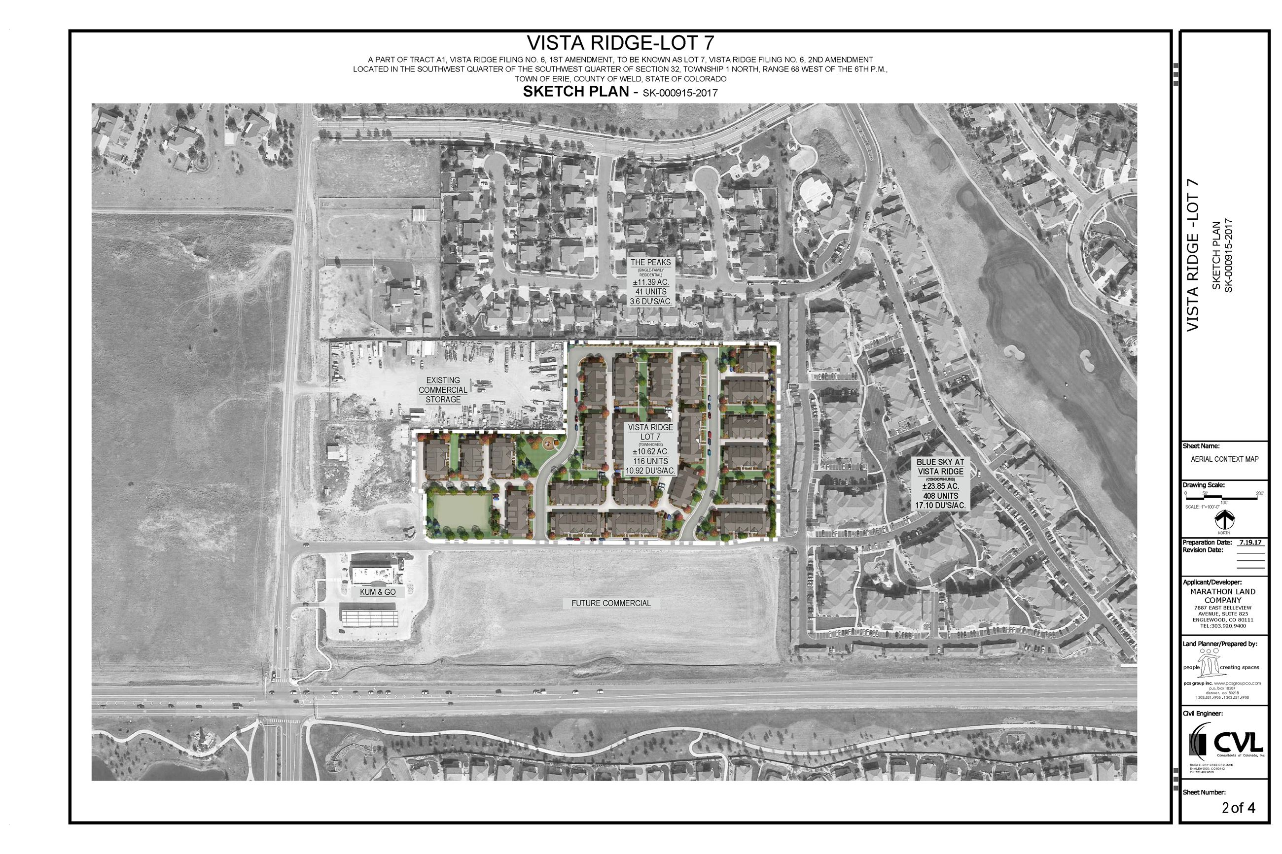 Vista Ridge Filing 6, Lot 7 subdivision - Sketch Plan - 10.25.2017